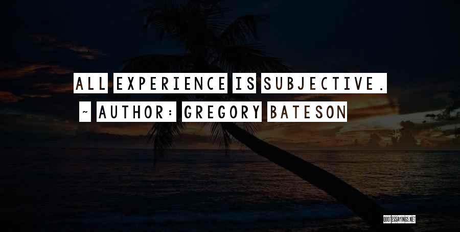 Gregory Bateson Quotes 185495
