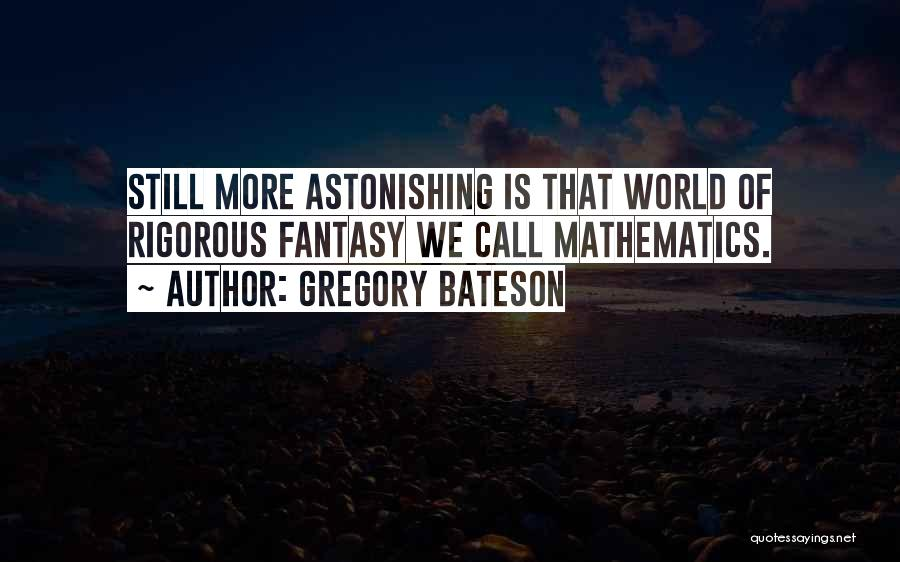 Gregory Bateson Quotes 1892609