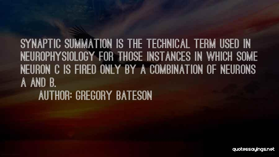 Gregory Bateson Quotes 1914469