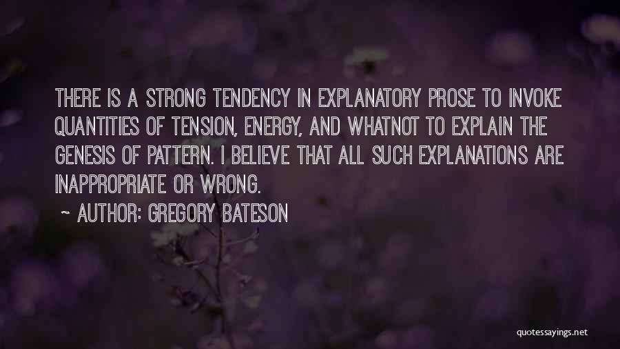 Gregory Bateson Quotes 2037997