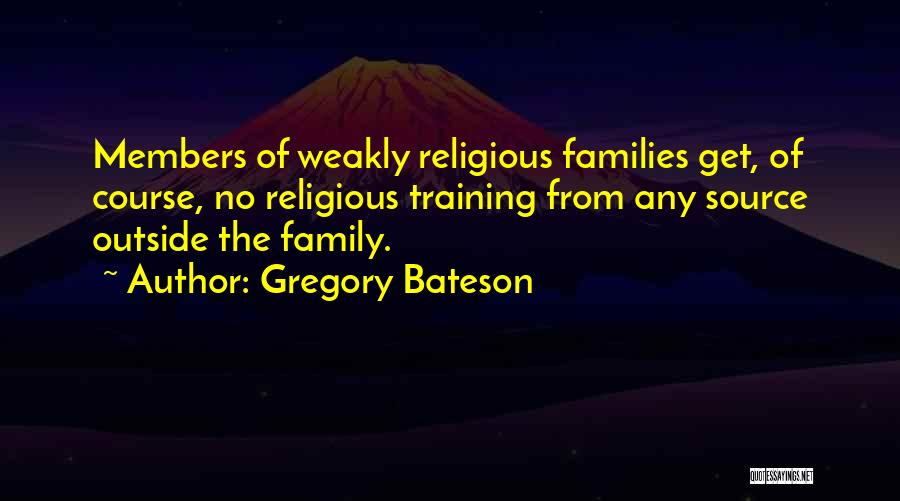 Gregory Bateson Quotes 2179736
