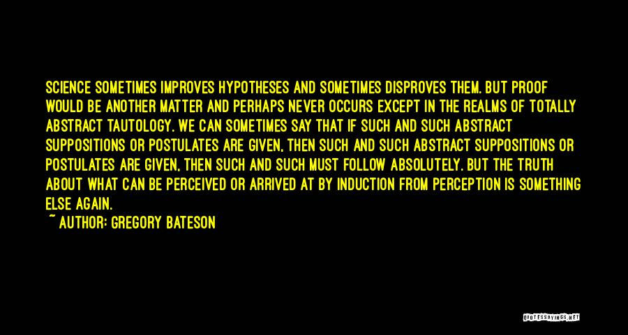 Gregory Bateson Quotes 2269062