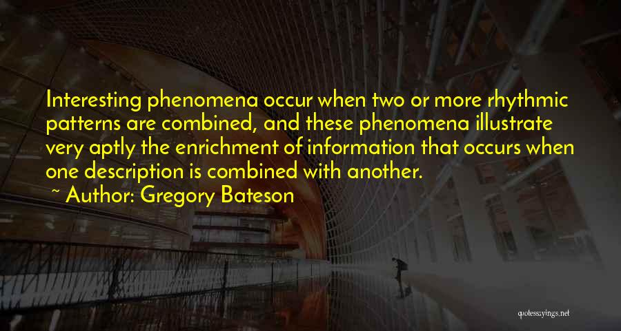 Gregory Bateson Quotes 275332