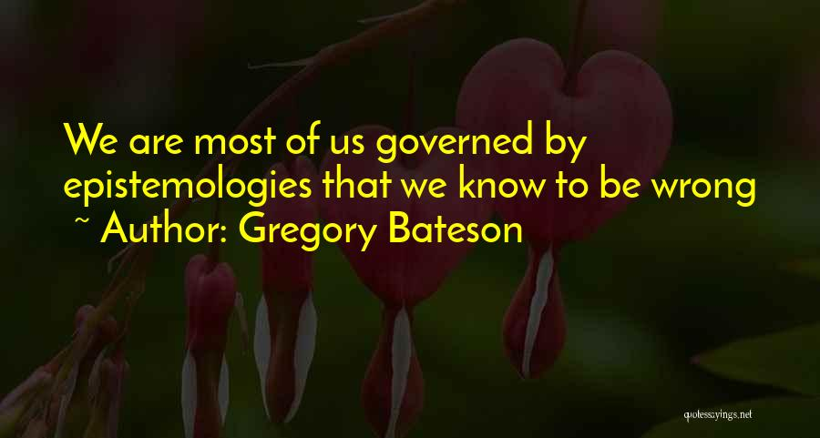 Gregory Bateson Quotes 309602