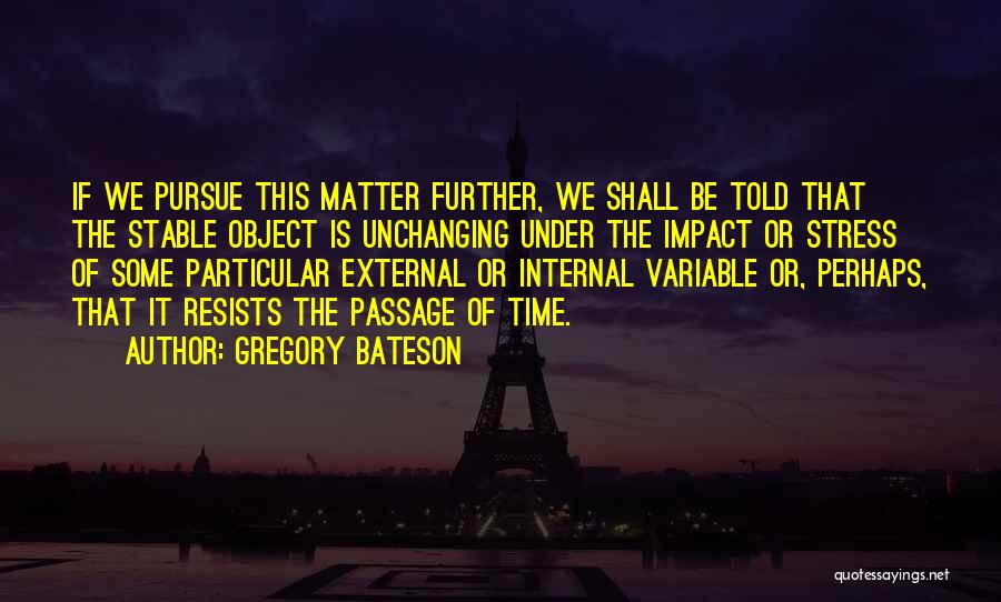 Gregory Bateson Quotes 424130