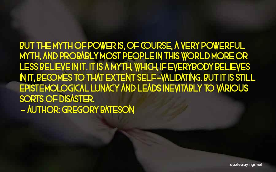 Gregory Bateson Quotes 586560