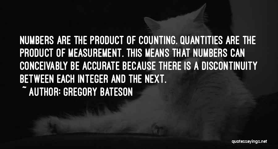 Gregory Bateson Quotes 637059
