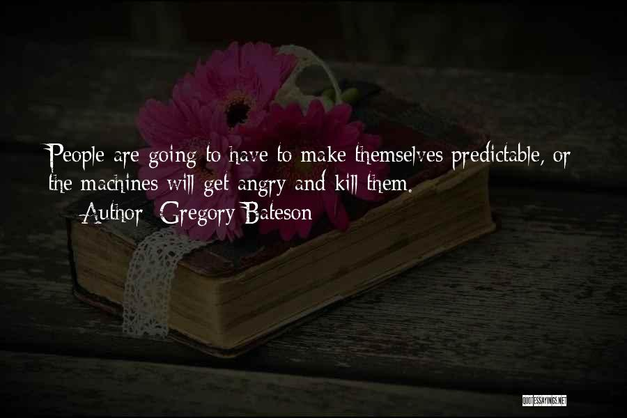 Gregory Bateson Quotes 728335