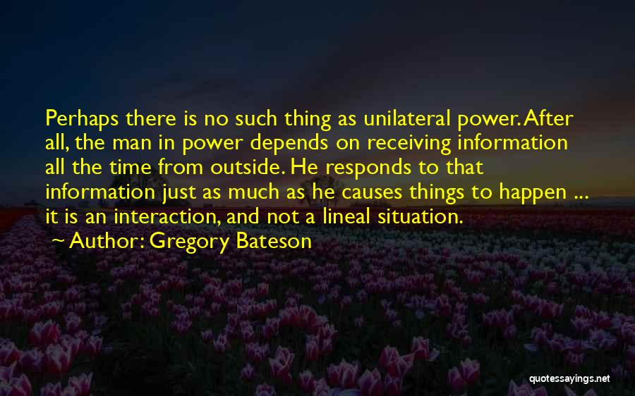 Gregory Bateson Quotes 828594