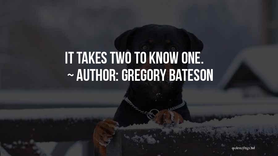 Gregory Bateson Quotes 975389