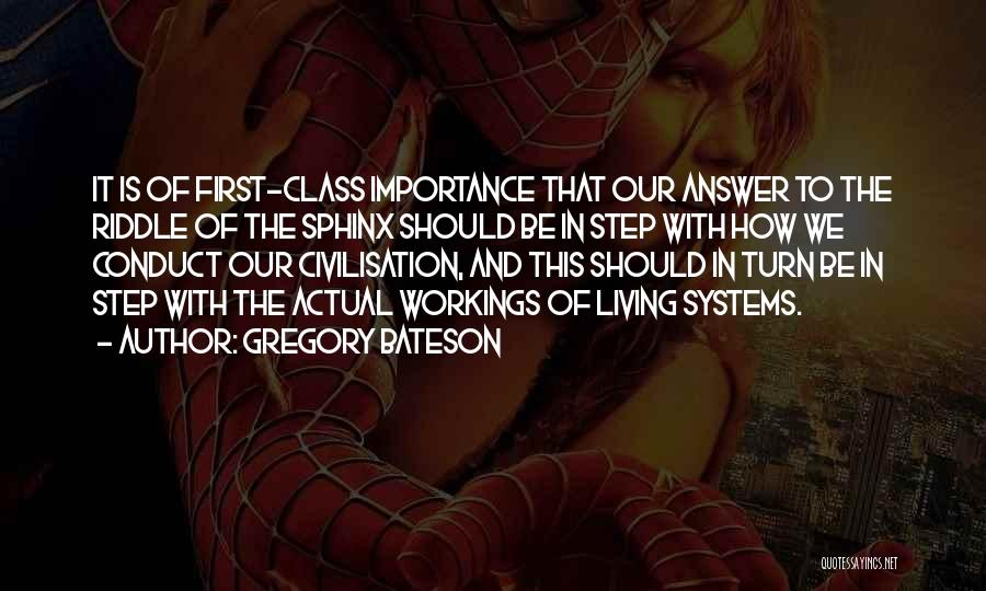 Gregory Bateson Quotes 992303