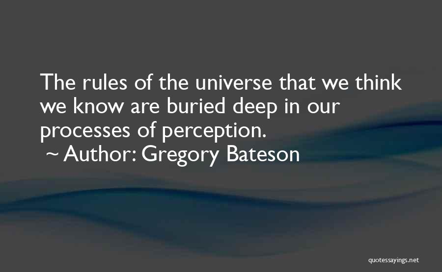 Gregory Bateson Quotes 997259