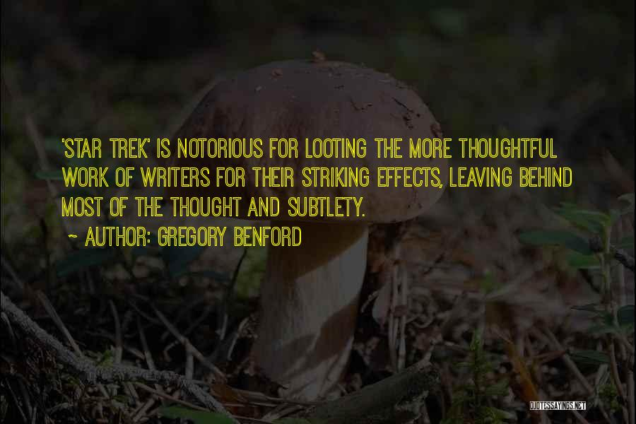 Gregory Benford Quotes 111682