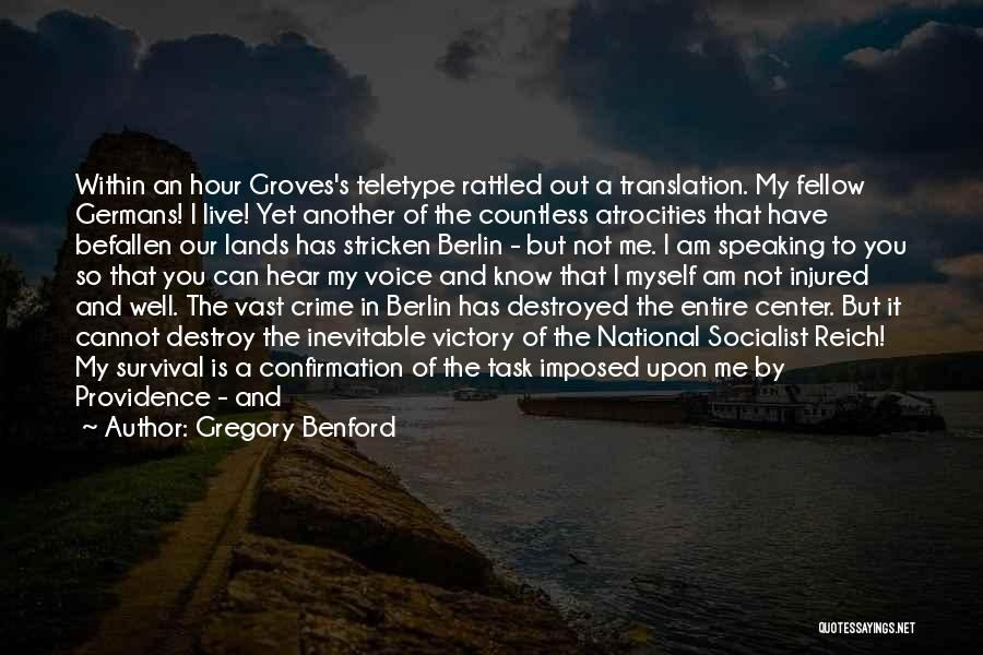 Gregory Benford Quotes 1448427