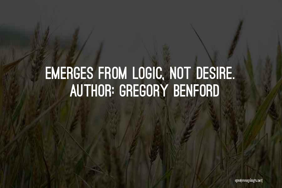 Gregory Benford Quotes 1712839