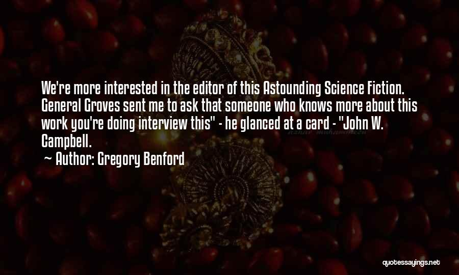 Gregory Benford Quotes 215445