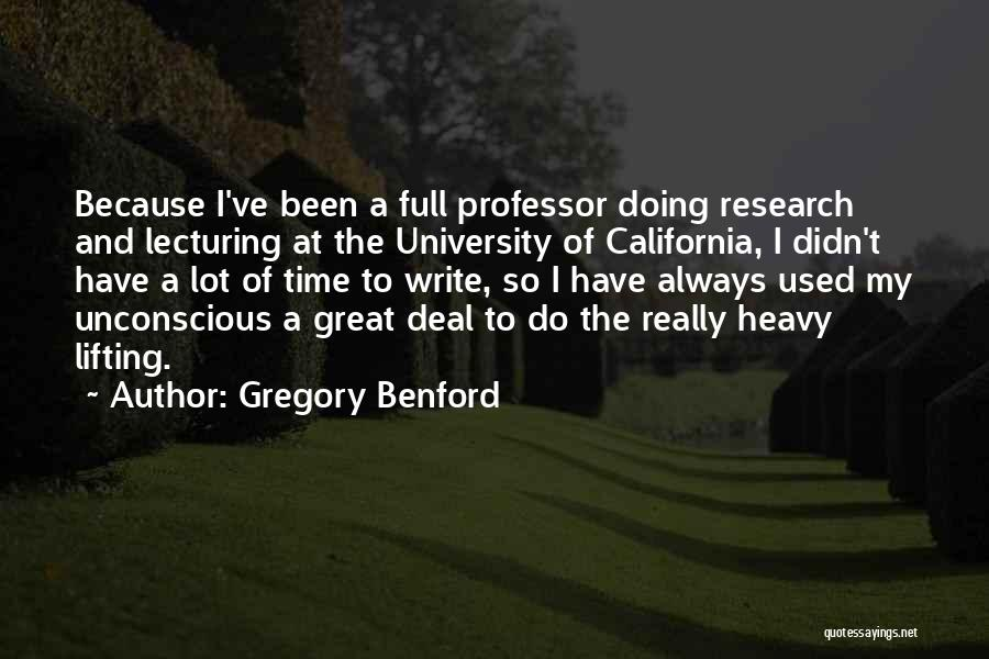 Gregory Benford Quotes 326047