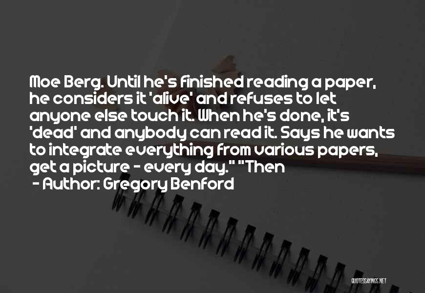 Gregory Benford Quotes 437115