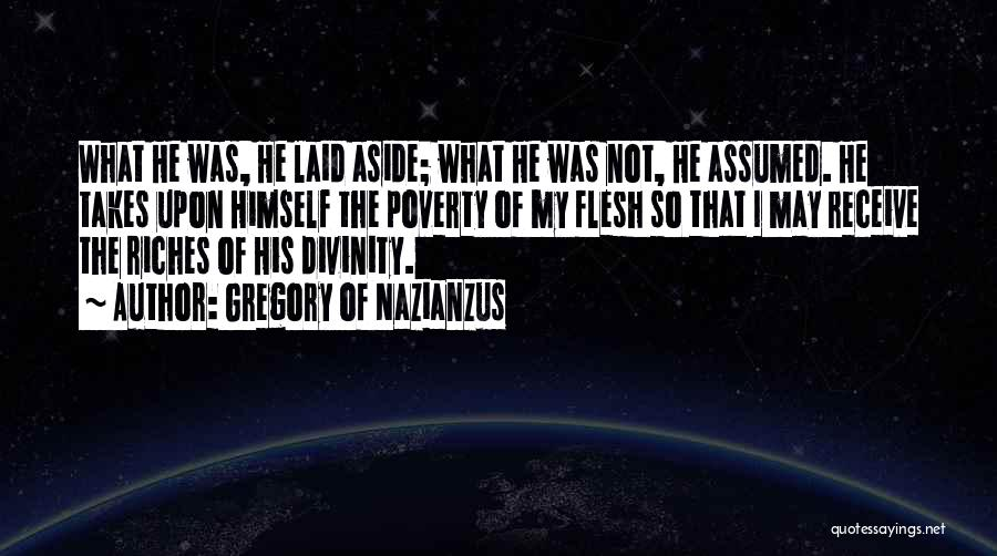 Gregory Of Nazianzus Quotes 1065596