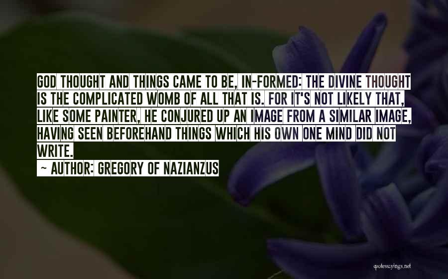 Gregory Of Nazianzus Quotes 1172442