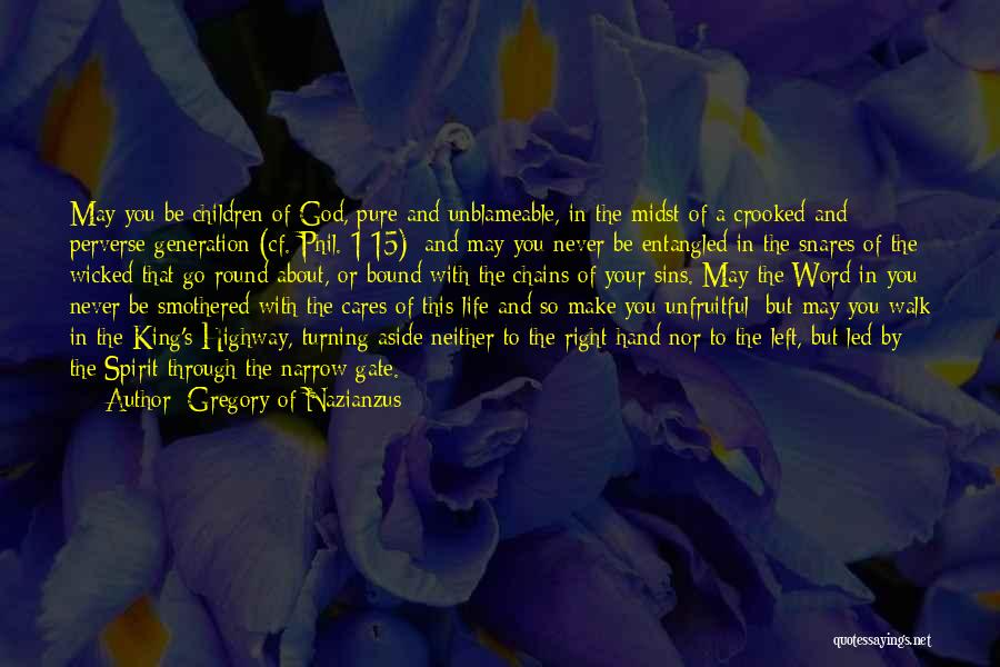 Gregory Of Nazianzus Quotes 1205965
