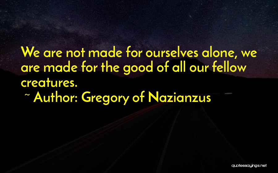 Gregory Of Nazianzus Quotes 134937