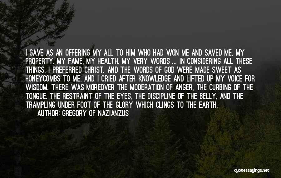 Gregory Of Nazianzus Quotes 1457904