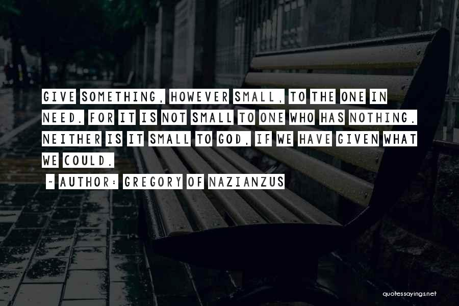 Gregory Of Nazianzus Quotes 1546424