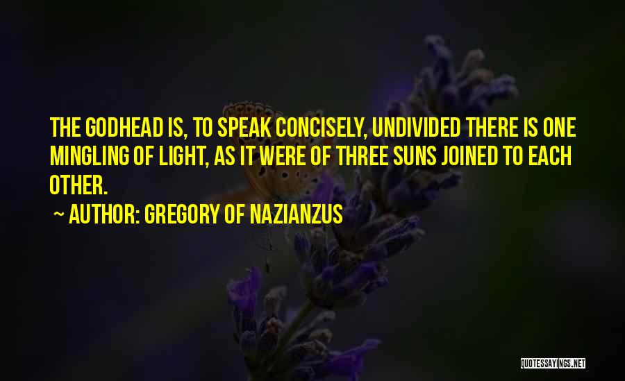 Gregory Of Nazianzus Quotes 1576489