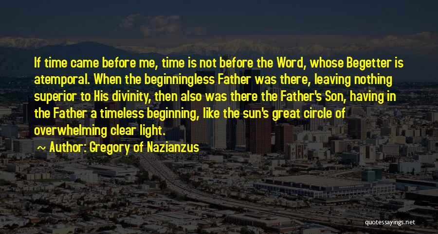 Gregory Of Nazianzus Quotes 2166525