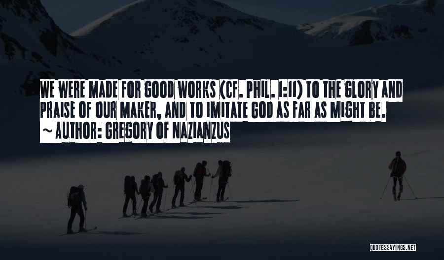 Gregory Of Nazianzus Quotes 616636