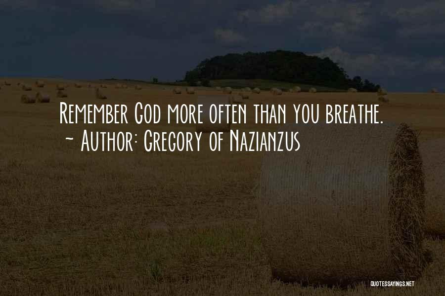 Gregory Of Nazianzus Quotes 687592
