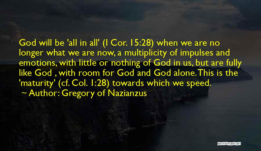Gregory Of Nazianzus Quotes 764577