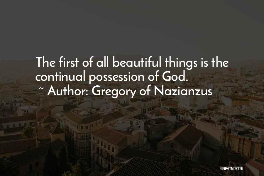 Gregory Of Nazianzus Quotes 797458