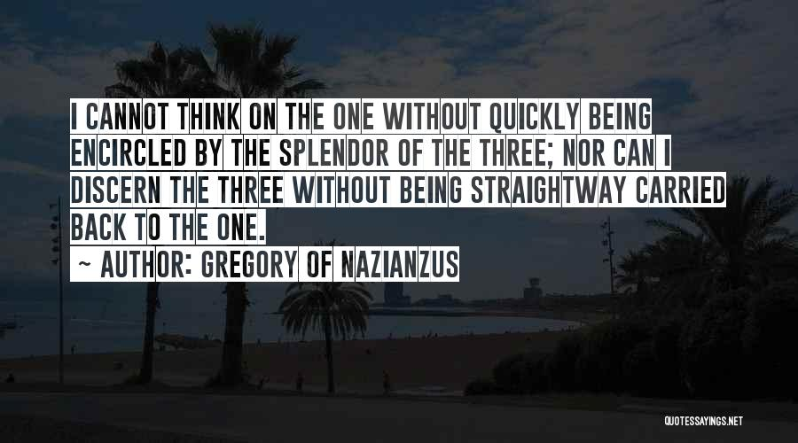 Gregory Of Nazianzus Quotes 830388