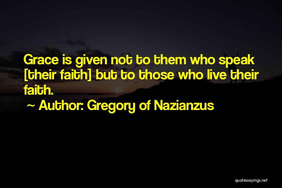 Gregory Of Nazianzus Quotes 844487