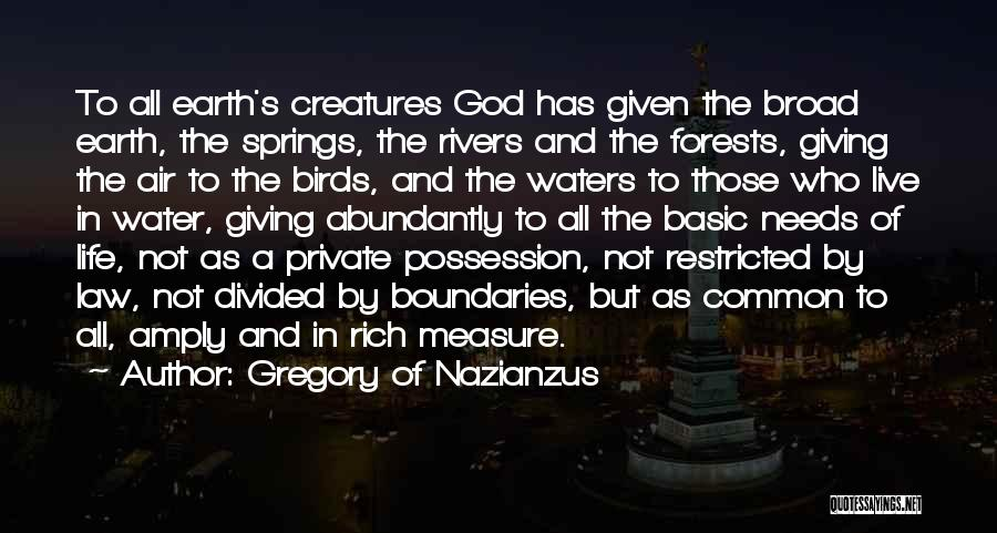 Gregory Of Nazianzus Quotes 974856