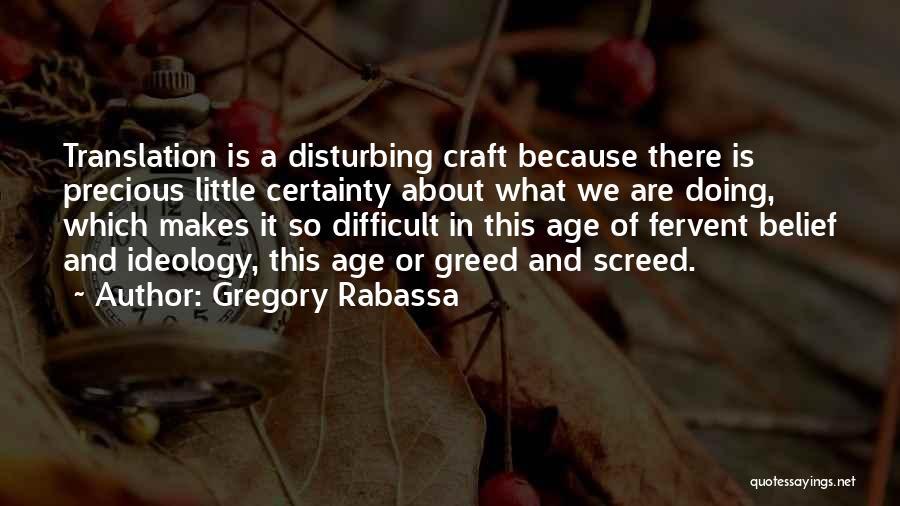 Gregory Rabassa Quotes 1045335