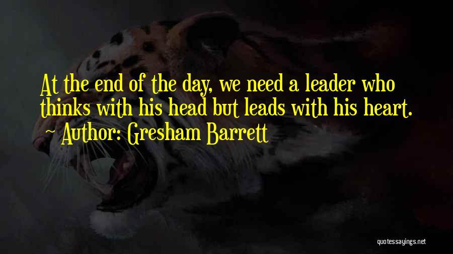 Gresham Barrett Quotes 243181