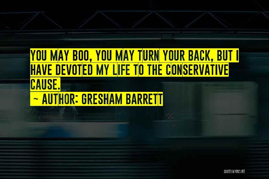 Gresham Barrett Quotes 289469