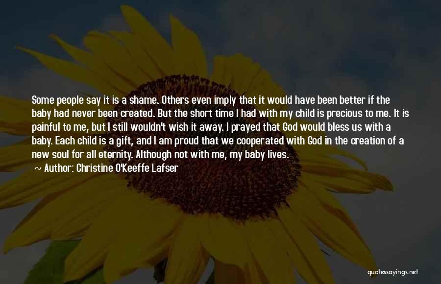 Grief And God Quotes By Christine O'Keeffe Lafser