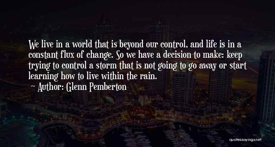 Grief And God Quotes By Glenn Pemberton