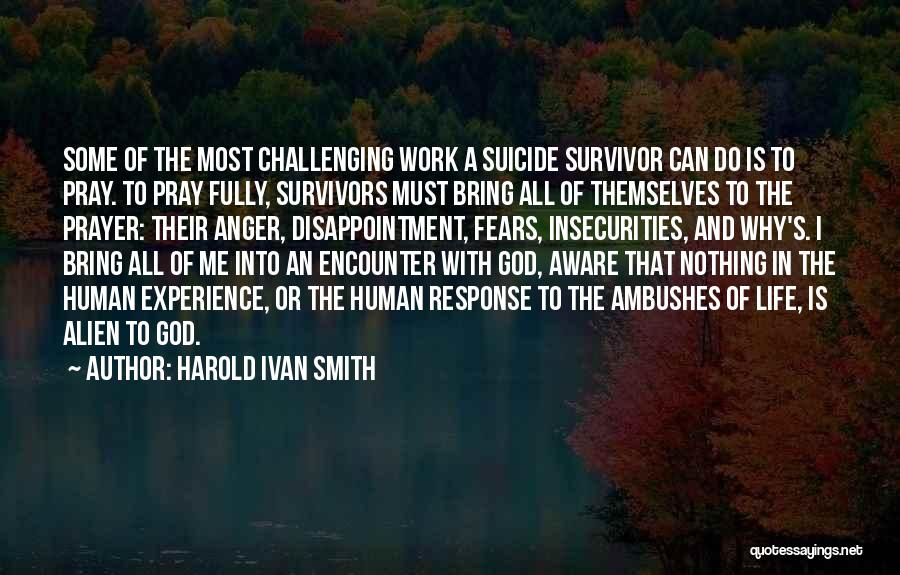Grief And God Quotes By Harold Ivan Smith