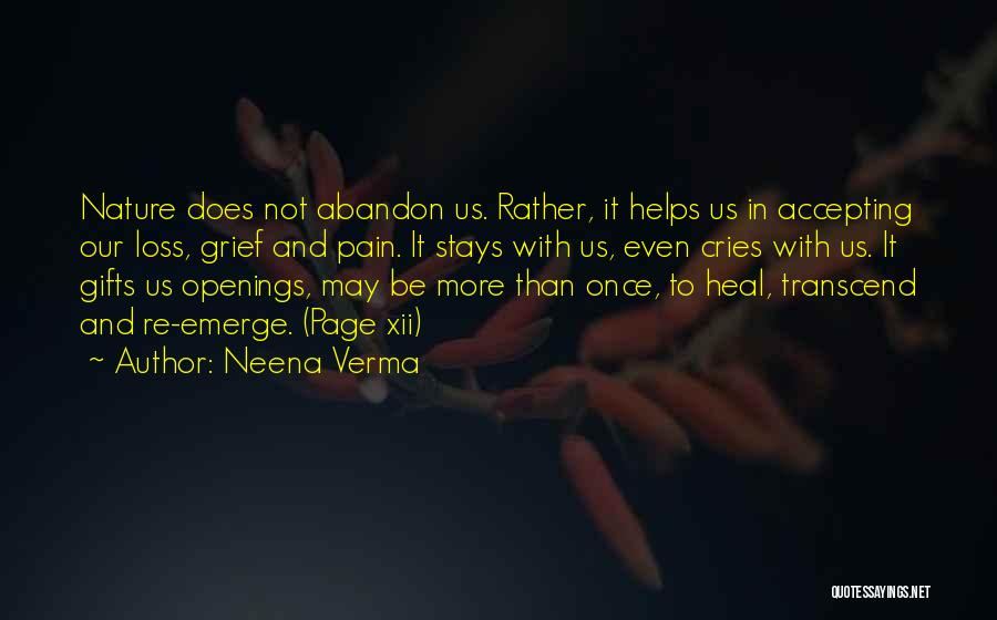 Grief And God Quotes By Neena Verma
