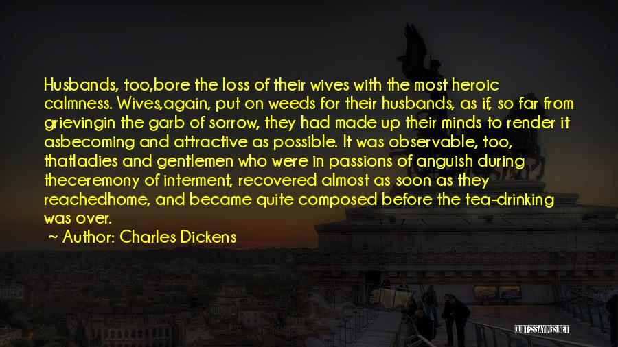Grieving Loss Quotes By Charles Dickens