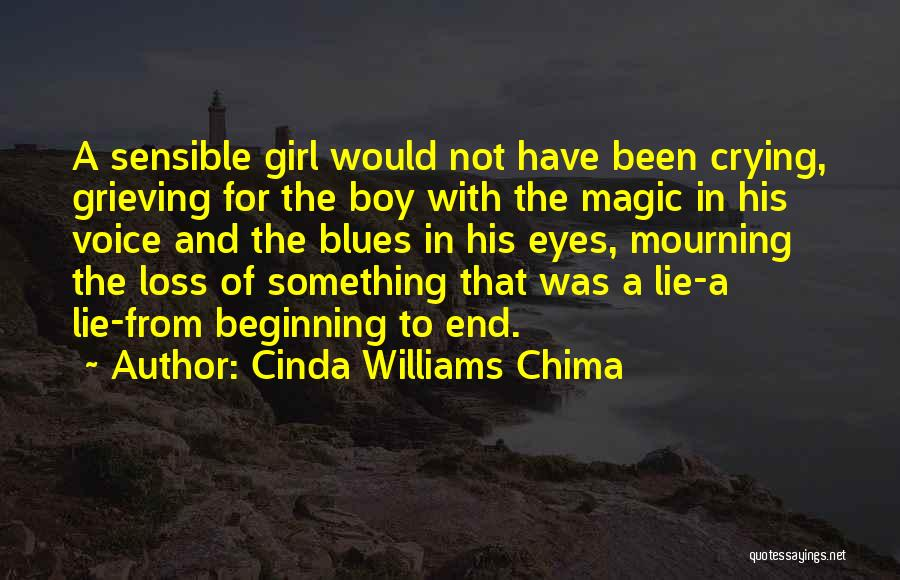 Grieving Loss Quotes By Cinda Williams Chima