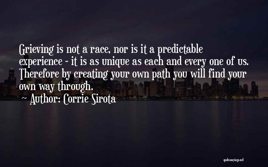 Grieving Loss Quotes By Corrie Sirota