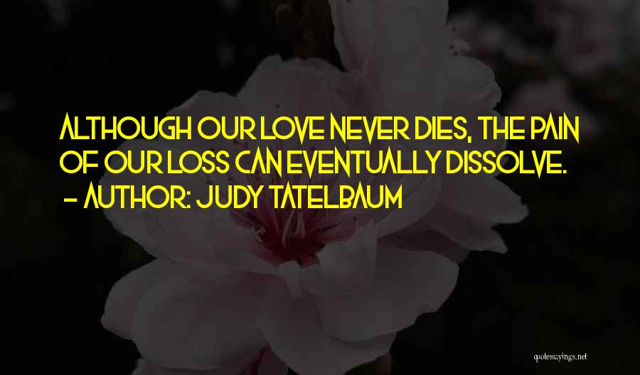 Grieving Loss Quotes By Judy Tatelbaum