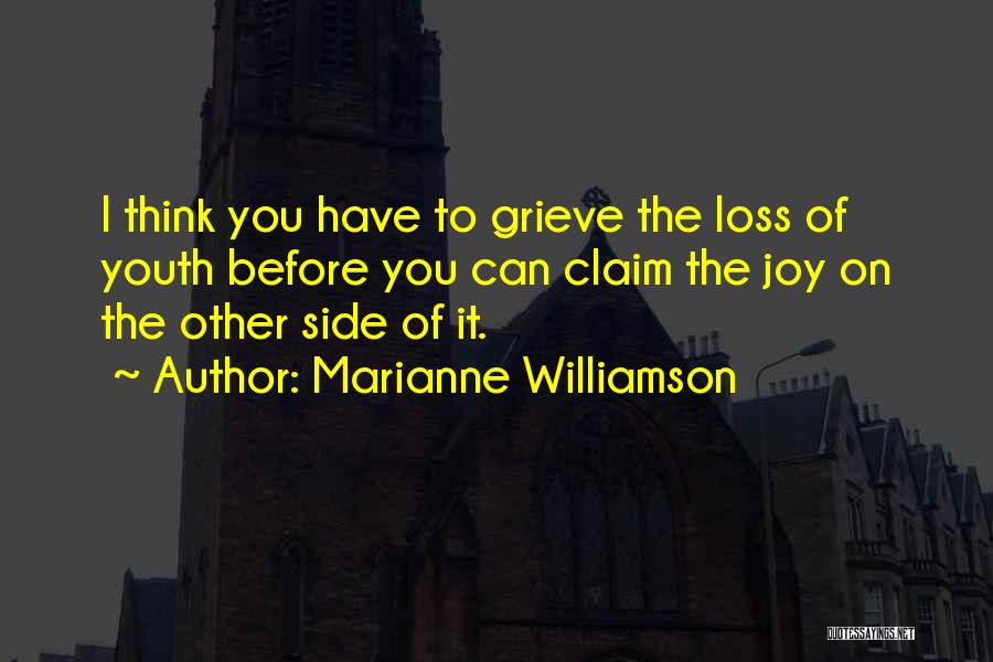 Grieving Loss Quotes By Marianne Williamson