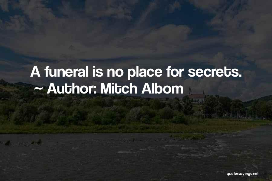 Grieving Loss Quotes By Mitch Albom